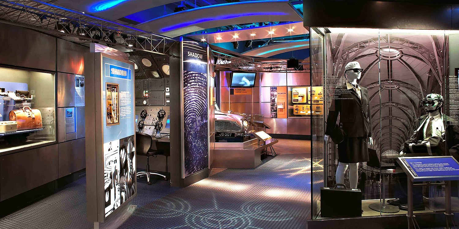 $36 -- Spy Museum Tickets for 2 w/Interactive Tour, Reg. $53