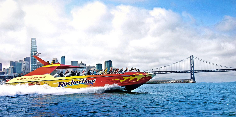 $12 -- High-Speed Boat Ride on SF Bay, Reg. $25