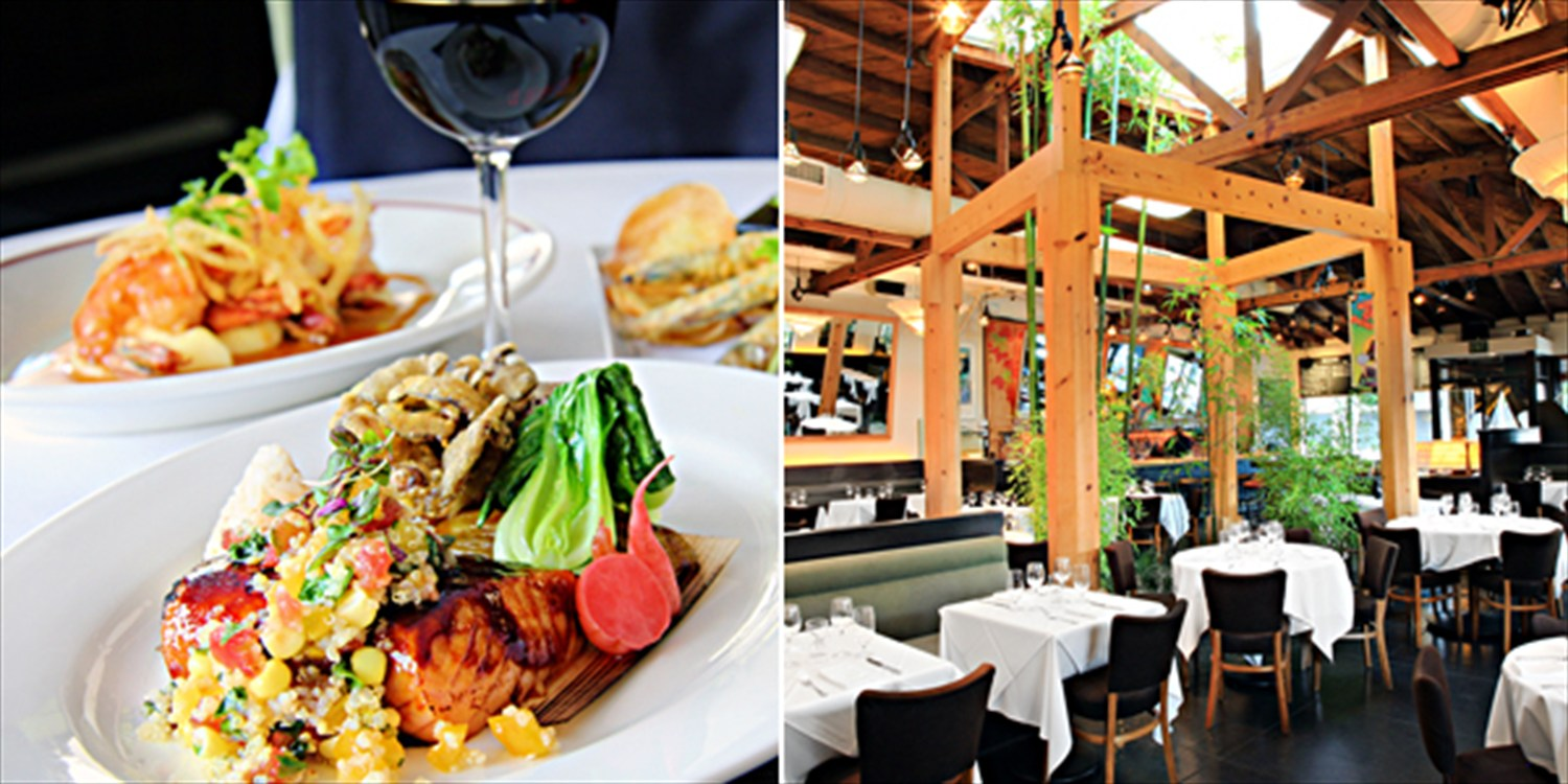 $59 -- Chaya Beverly Hills: Dinner & Drinks for 2, Half Off