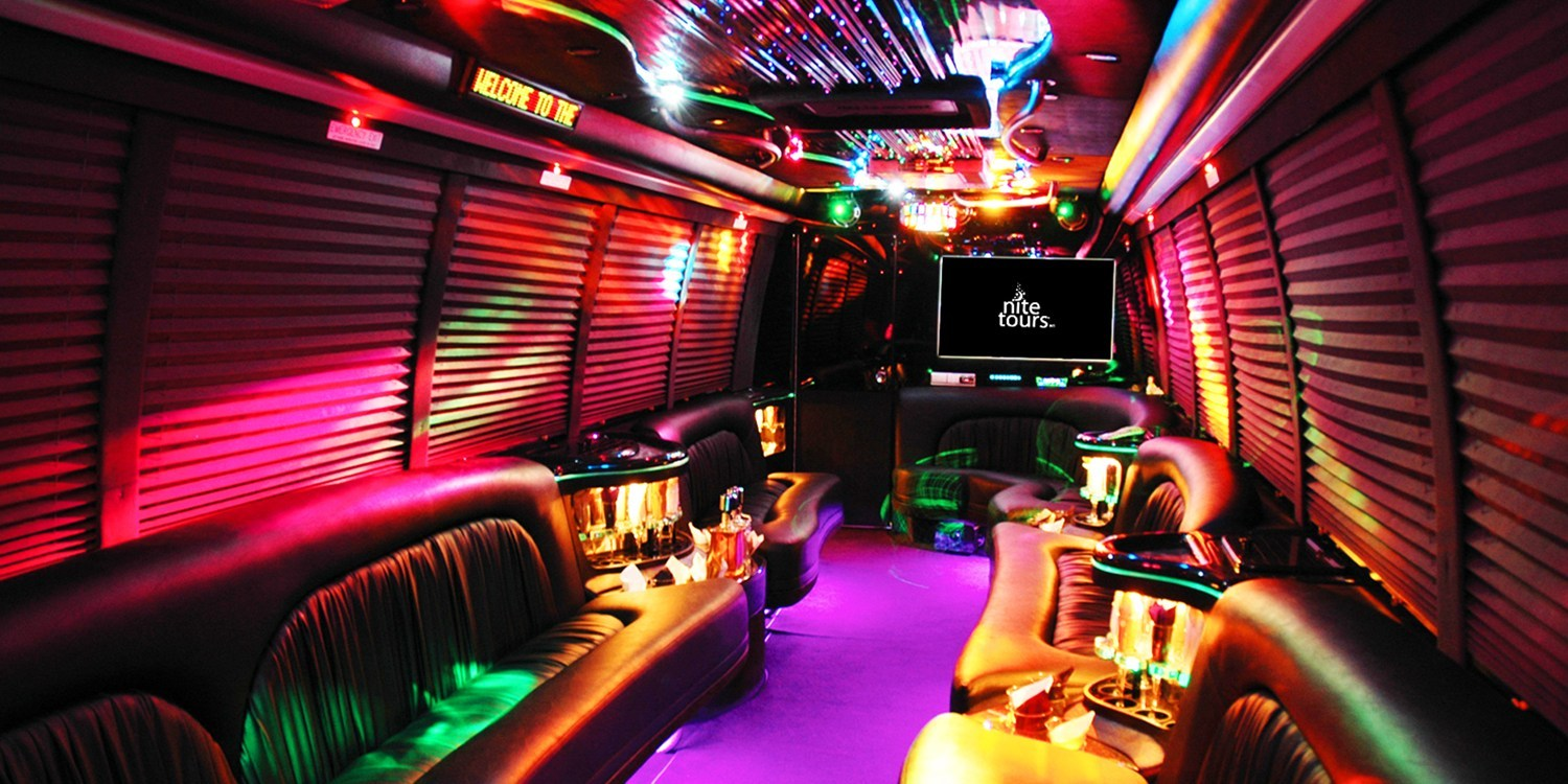 $39 & up -- Day Club or Night Club Limo Bus Tours w/Drinks