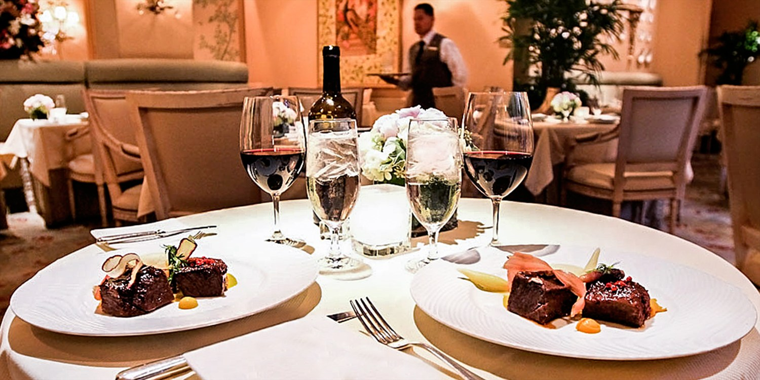 $99 -- Peninsula Beverly Hills Four-Course Dinner for 2