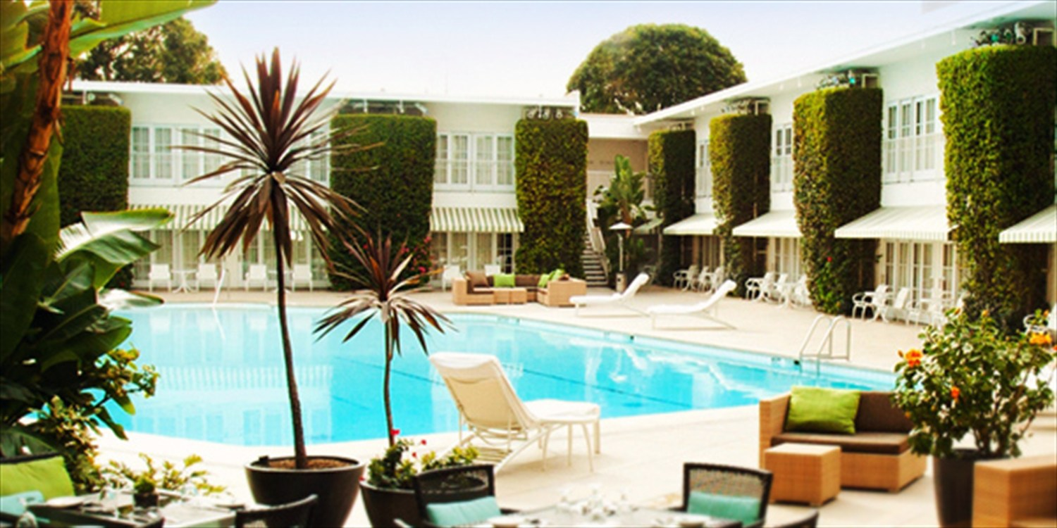 The Beverly Hilton: 45% Off Spa Day w/Pool & Bubbly