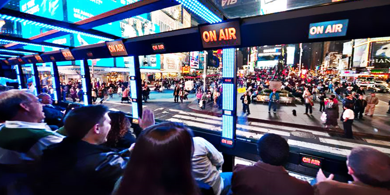 $45 -- 'The Ride': Interactive NYC Tour Experience, Reg. $78