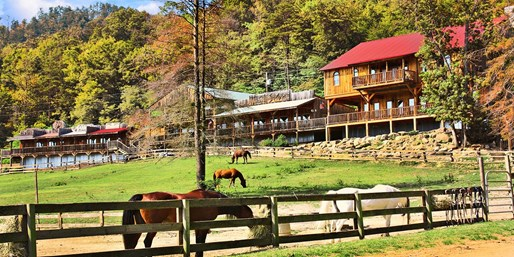 Travelzoo Deal: $249 -- Smoky Mountains: 2-Nt. Dude Ranch Getaway, Reg. $450