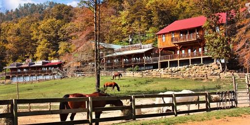 £239pp -- USA: 2-Night Dude-Ranch Break w/Horse Riding