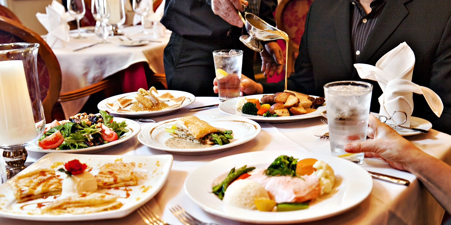 $55 -- Gemmell's: Dinner for 2 at 'French-Continental Gem'