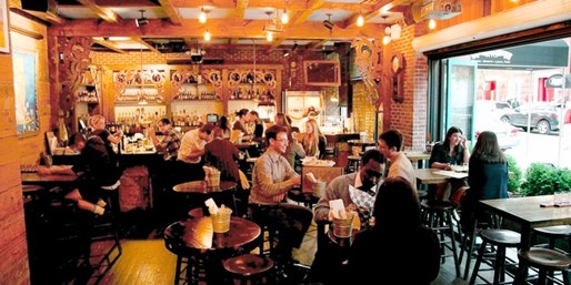 $15 -- Little Town: Blue Point Oysters & Craft Beers for 2