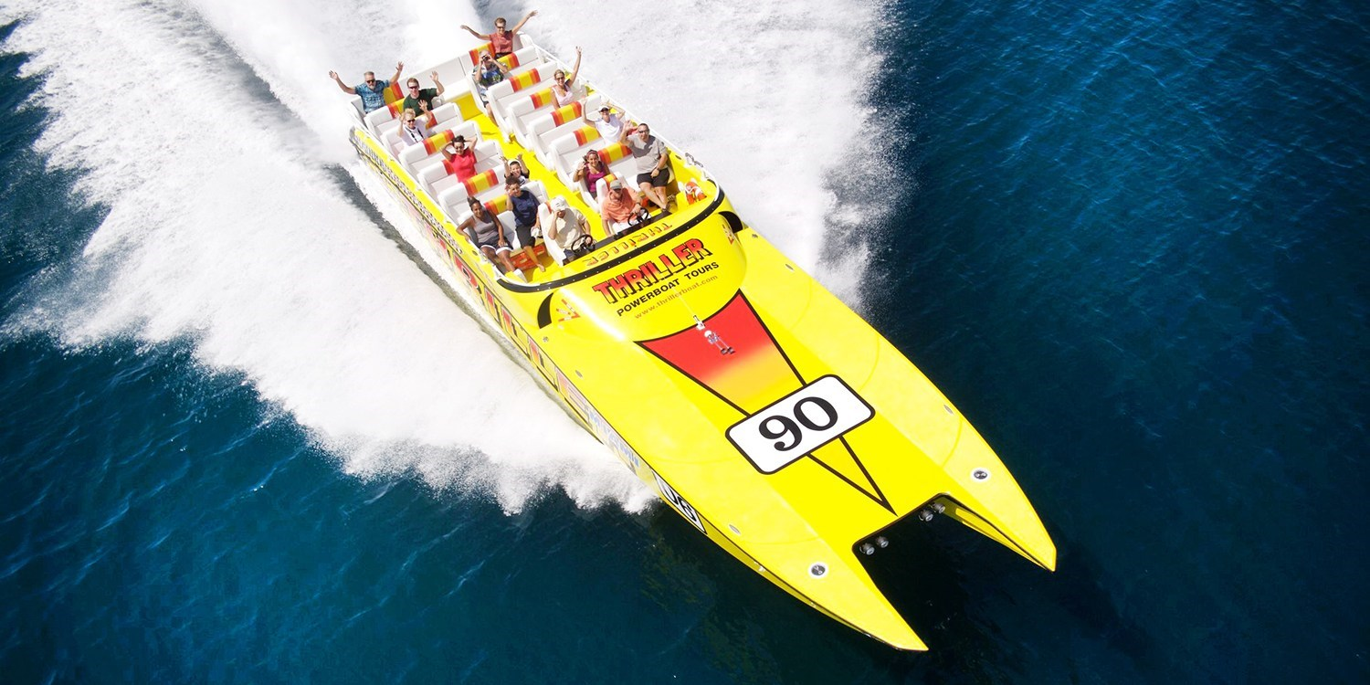 $25 -- Thrilling High-Speed Boat Ride around Miami, Reg. $36