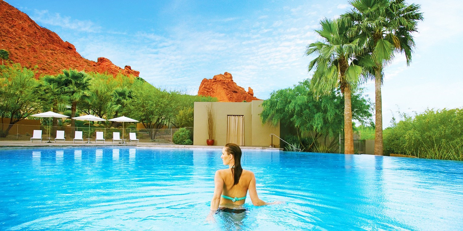 $99 -- Sanctuary Camelback: Luxe Spa & Pool Day, Reg. $210