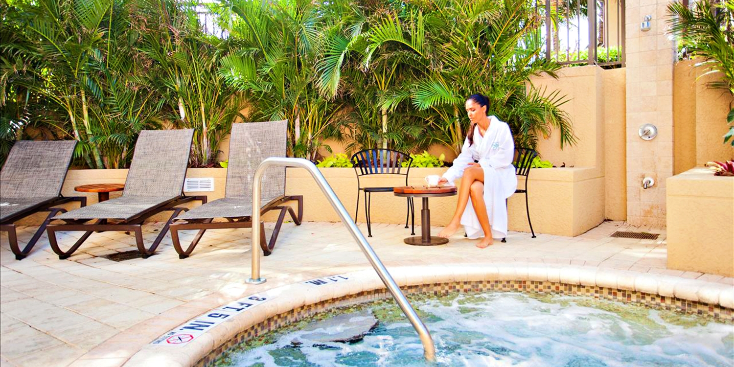 $115 -- Palm Beach Marriott: Spa & Pool Day, Reg. $254