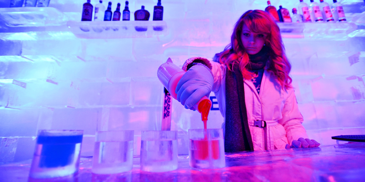 $40 -- World's Largest Ice Bar: Half Off Cocktails for 2