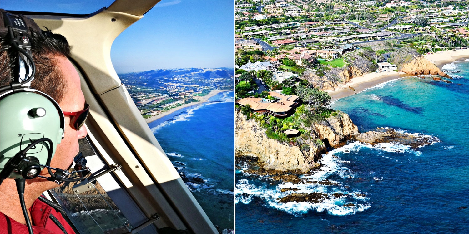 Picturesque Helicopter Tour along the Coastline, Half Off