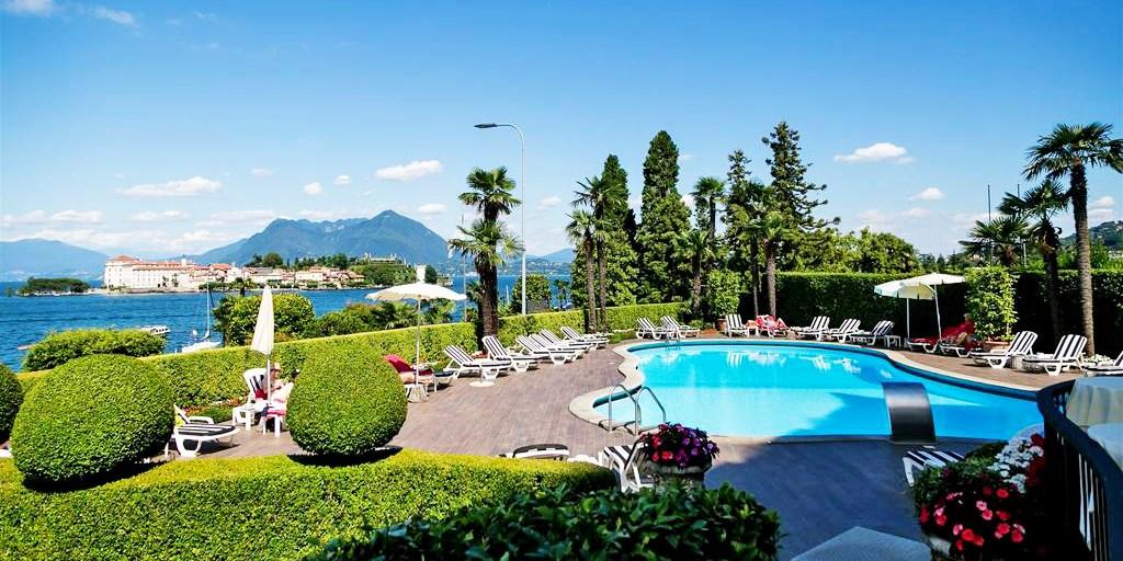 Villa e Palazzo Aminta Hotel Beauty and SPA -- Stresa, Italy
