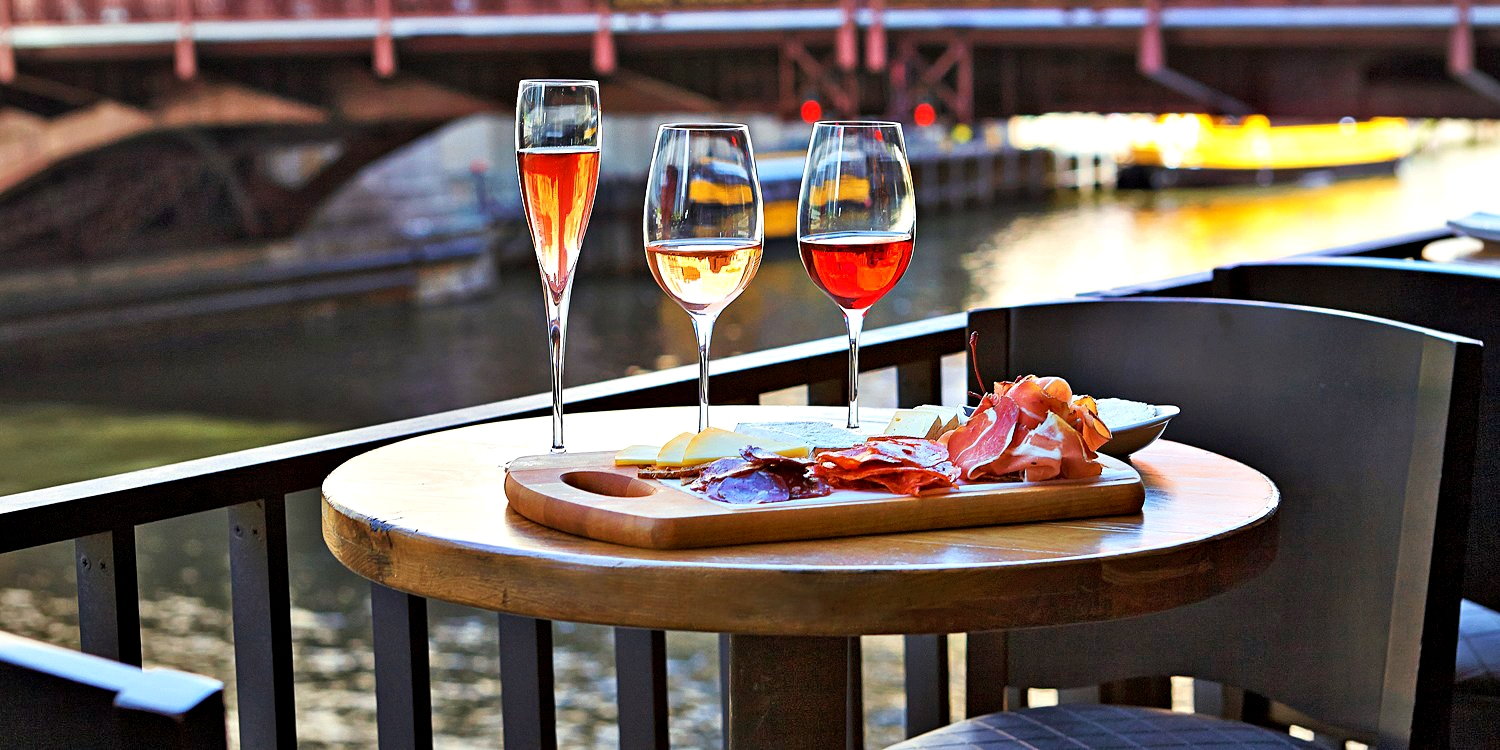 'Best Wine Bar' Pick: Riverside Flights for 2, 50% Off