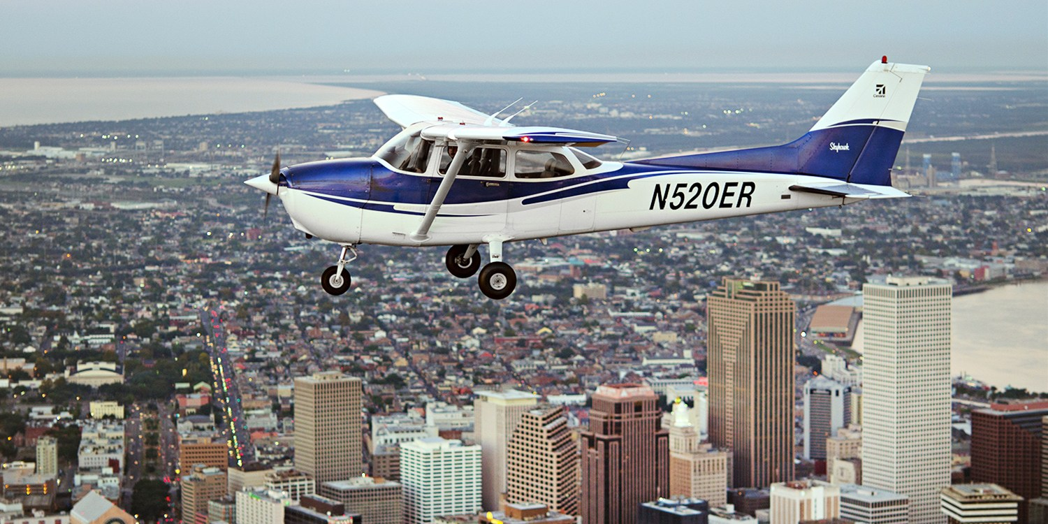 $135 & up -- Flight Lessons or Tour over NOLA, 40% Off