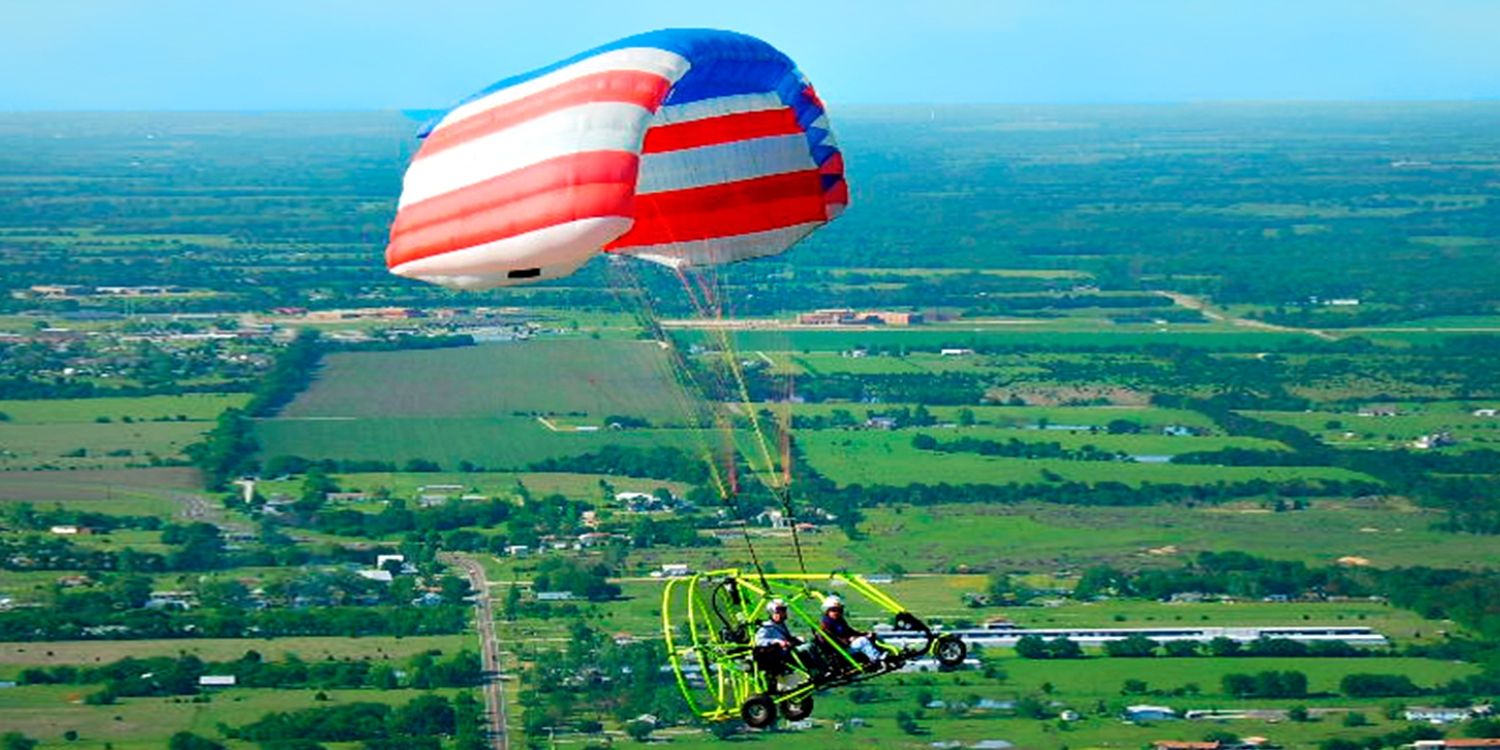Dallas: $99 -- Powered Parachute Flight over Lake Lavon, Reg. $199