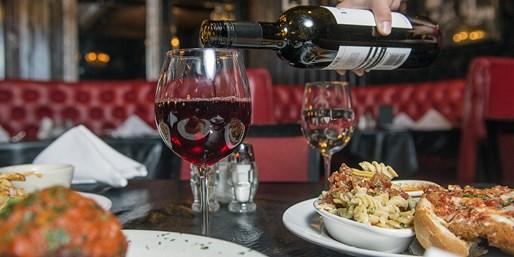 $19 -- Capo's Italian Speakeasy: Save 55% on Lunch for 2