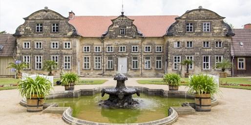 149 € -- 3 Tage Schlosshotel im Harz mit Menüs & Therme,-42%