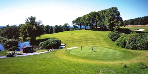 £29 -- 18 Holes of Golf & Bacon Rolls for 2, 53% Off