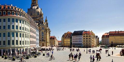 79 € -- Dresden: Kurzurlaub im stilvollen Hotel & Sekt, -47%