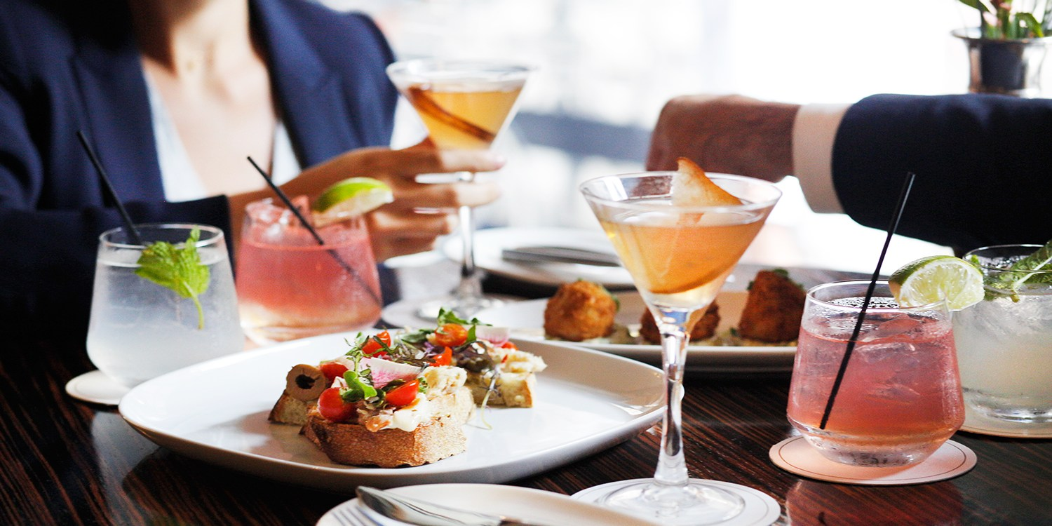 $35 -- Sofitel: Cocktail Flights & Plates for 2, Half Off