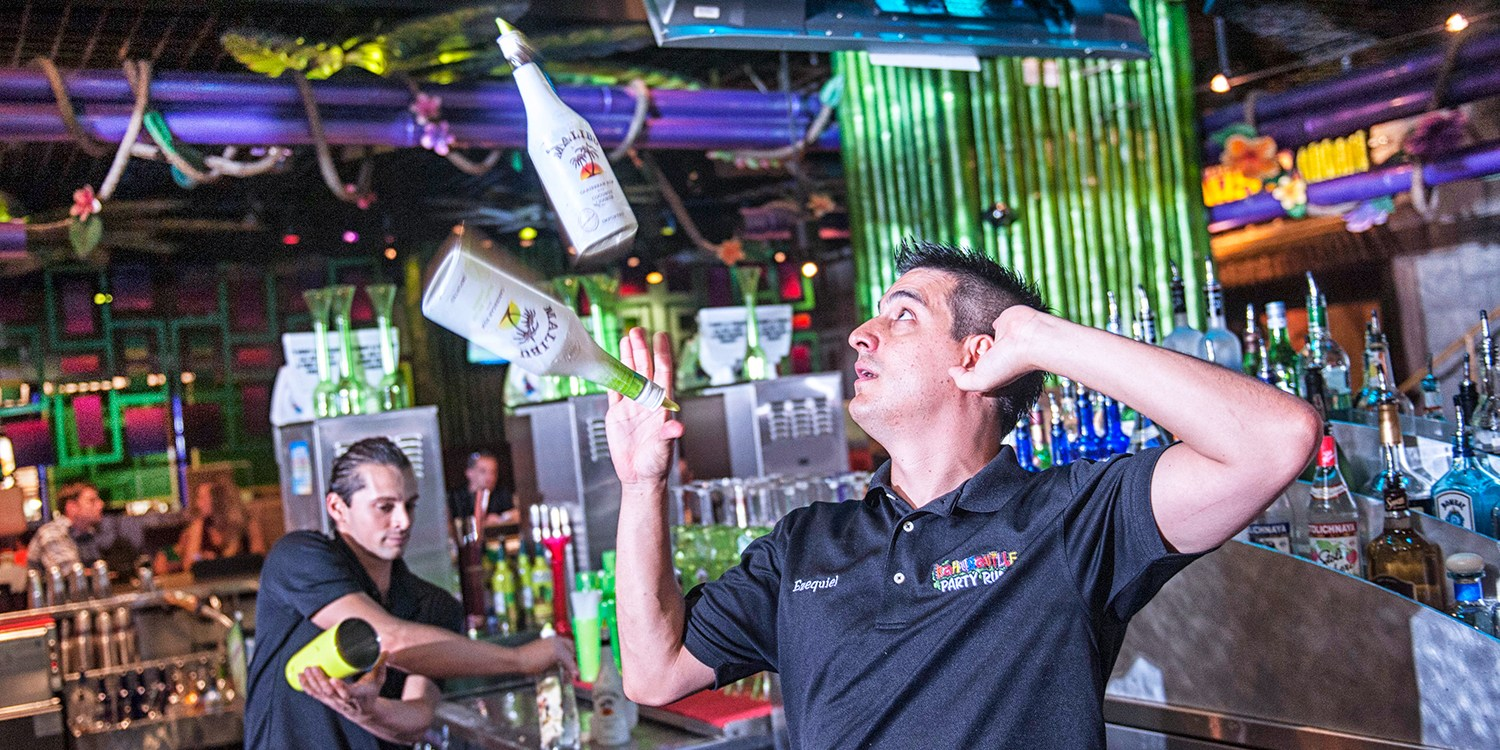 $29 -- Kahunaville: Half Off 6 Drinks w/Live Entertainment