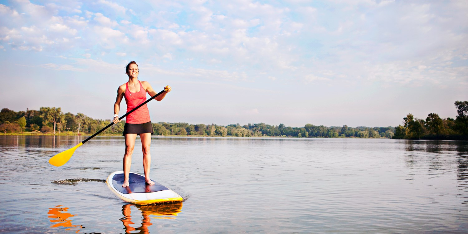 $15 -- Texas Rowing Center: Kayak or Paddleboard, 70% Off