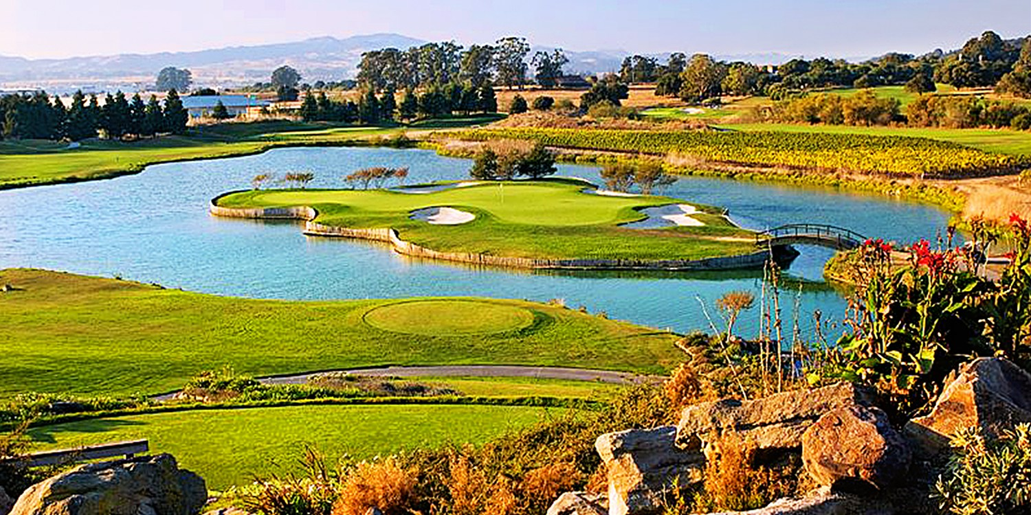 $99 -- Eagle Vines: 18 Holes for 2 w/Cart, Reg. $178