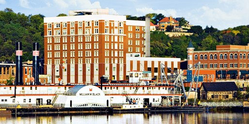 $99 -- Dubuque: Historic Hotel Julien, Save 65% thru March