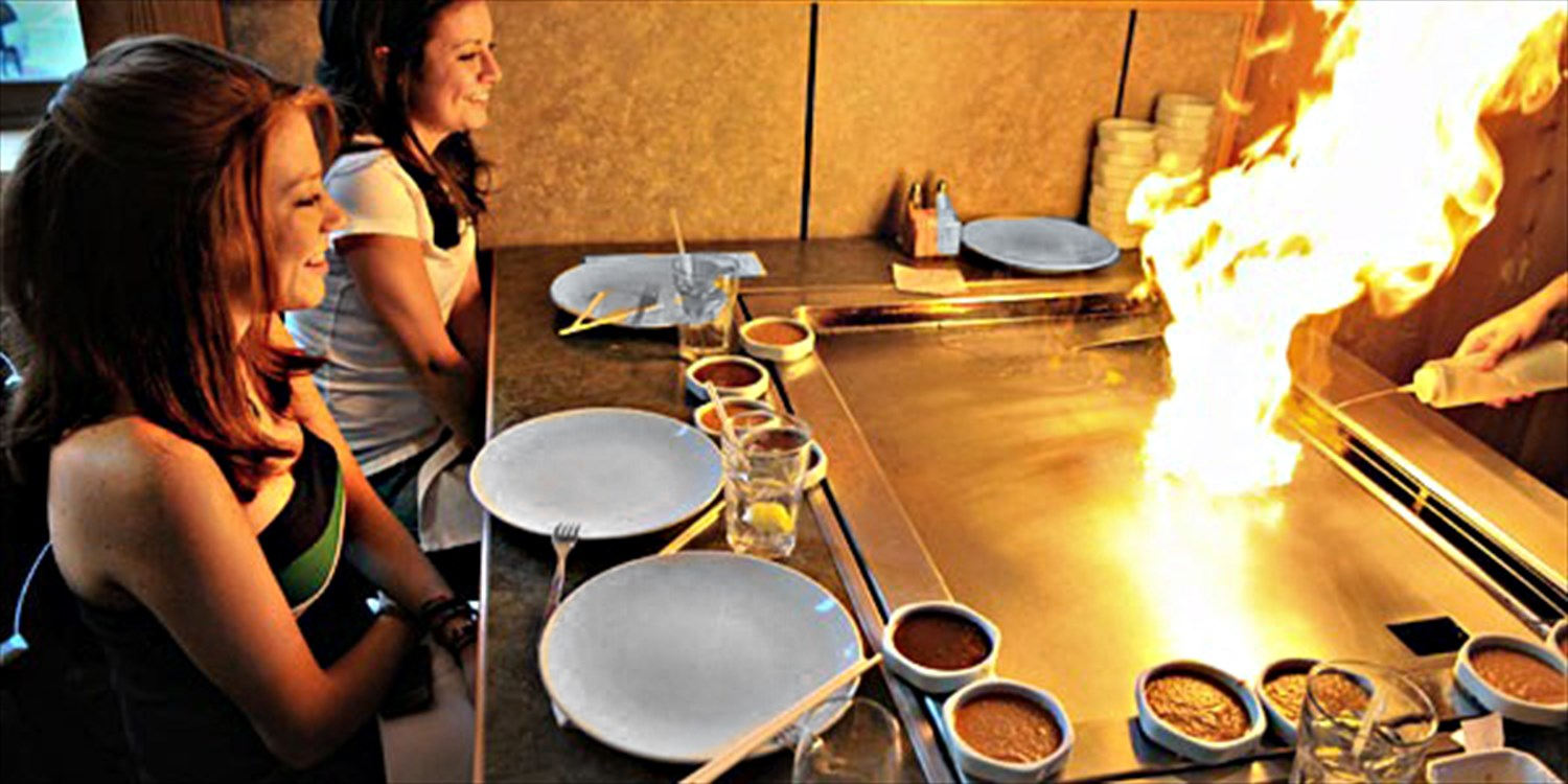 $24 -- Steak & Seafood Hibachi Lunch for 2, Reg. $39