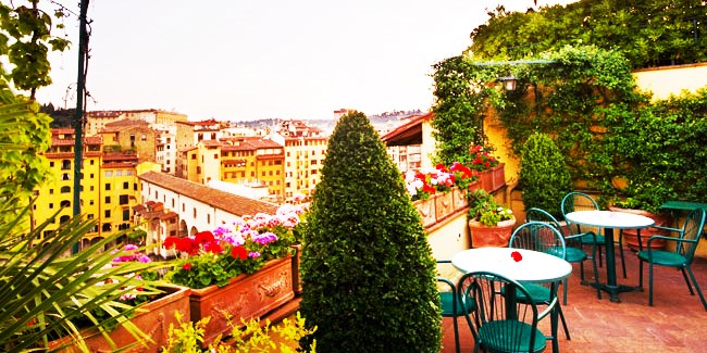 Hotel Hermitage -- Florence, Italy