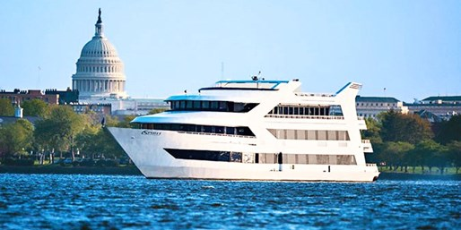 $57 -- Potomac River Dinner Cruise: 50% Off Fall Cruises