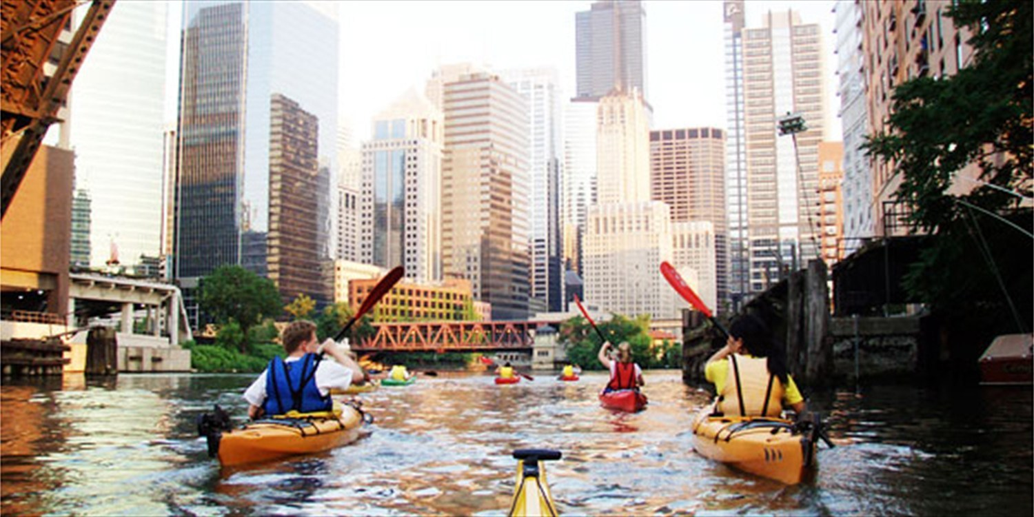 $32 -- Top-Rated River Kayak Tours through October, Reg. $65