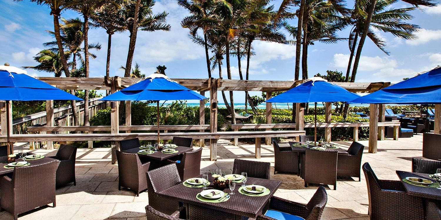 $35 -- Jupiter Beach Resort: Drinks & Apps for 2, Reg. $74
