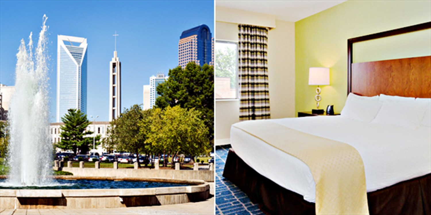 $99 -- Charlotte Weekend Getaway w/Breakfast, Reg. $183