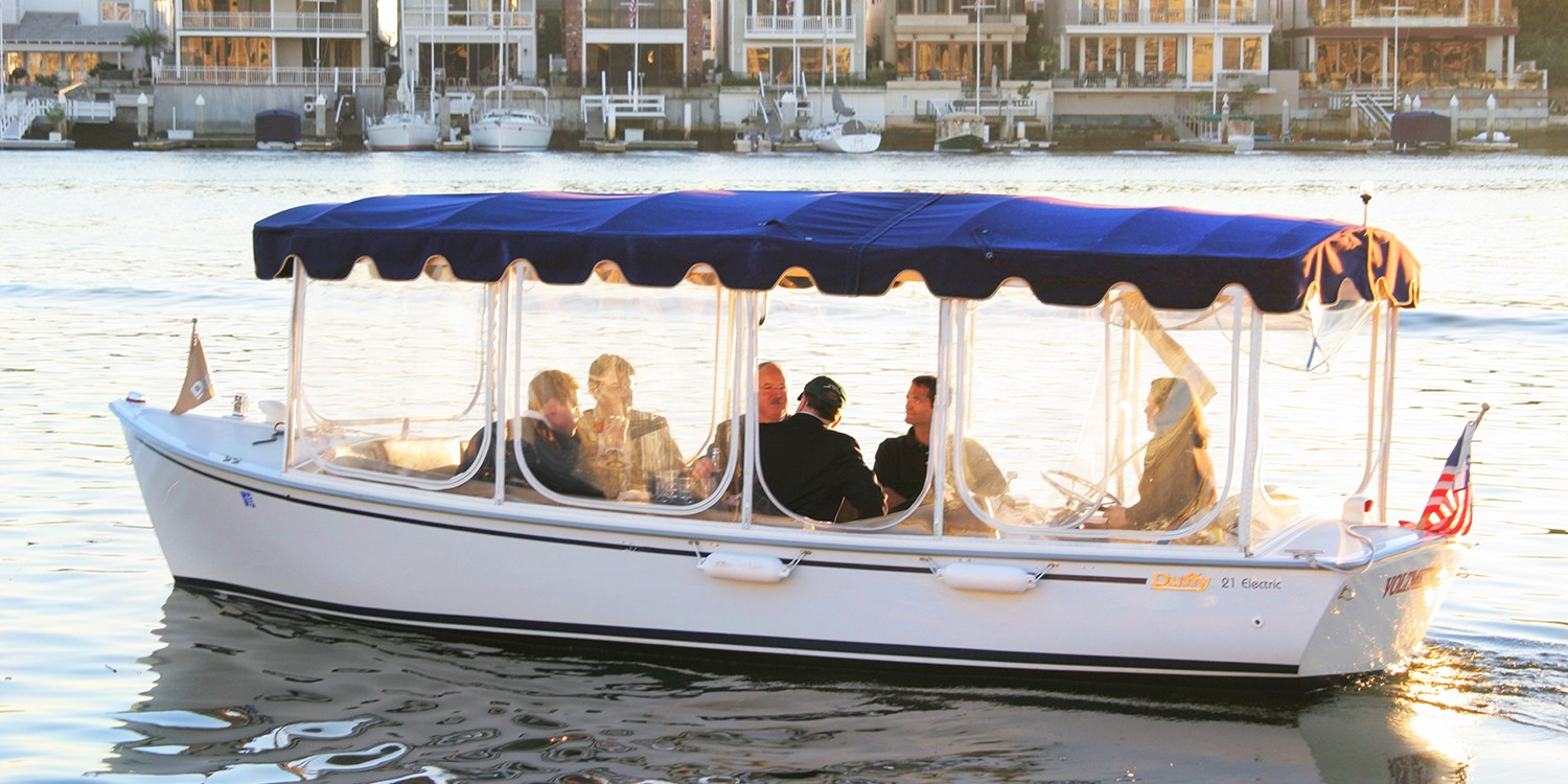 $45 -- One-Hour Duffy Boat Rental on Liberty Bay, Reg. $80