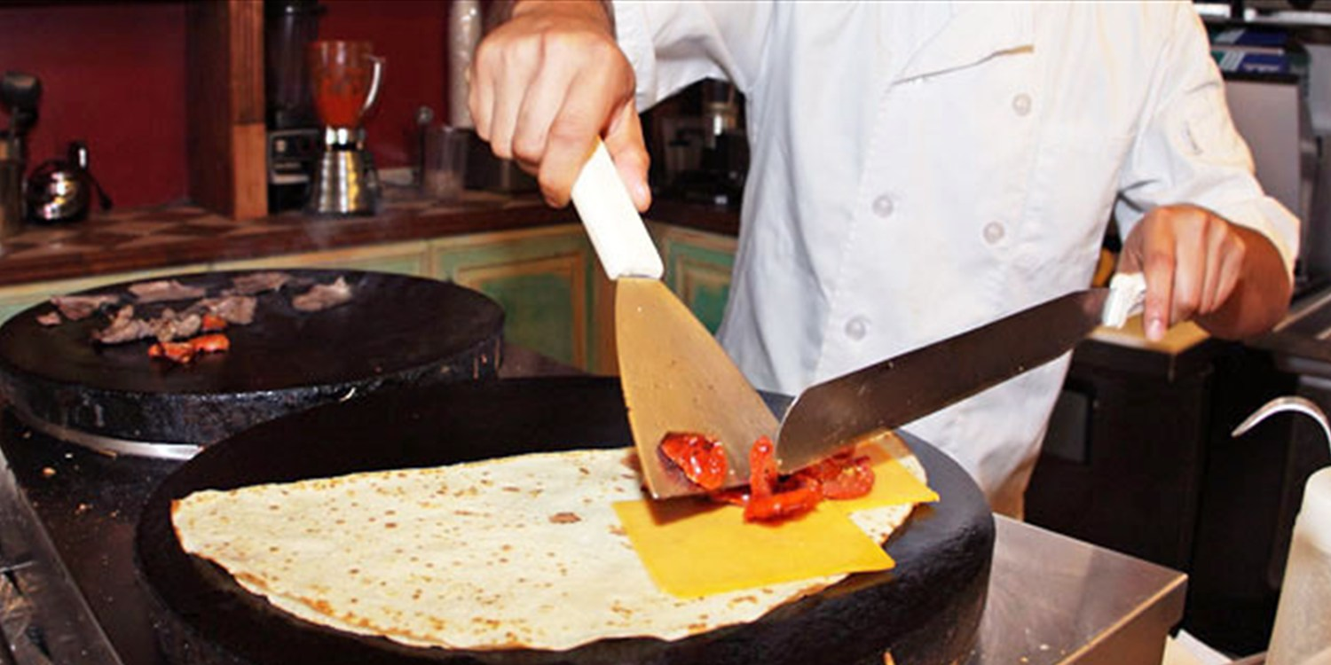 $24 & up -- French Crepes and Mimosas at Fabrison's, 45% Off