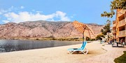 $89 -- Okanagan Beachfront Stay w/Bottle of Wine, Reg. $169