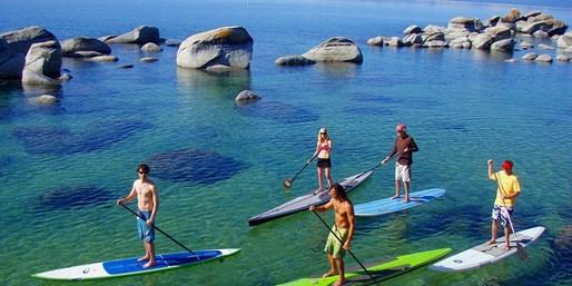 $45 -- Tahoe: Paddleboard or Kayak Tour, Reg. $95