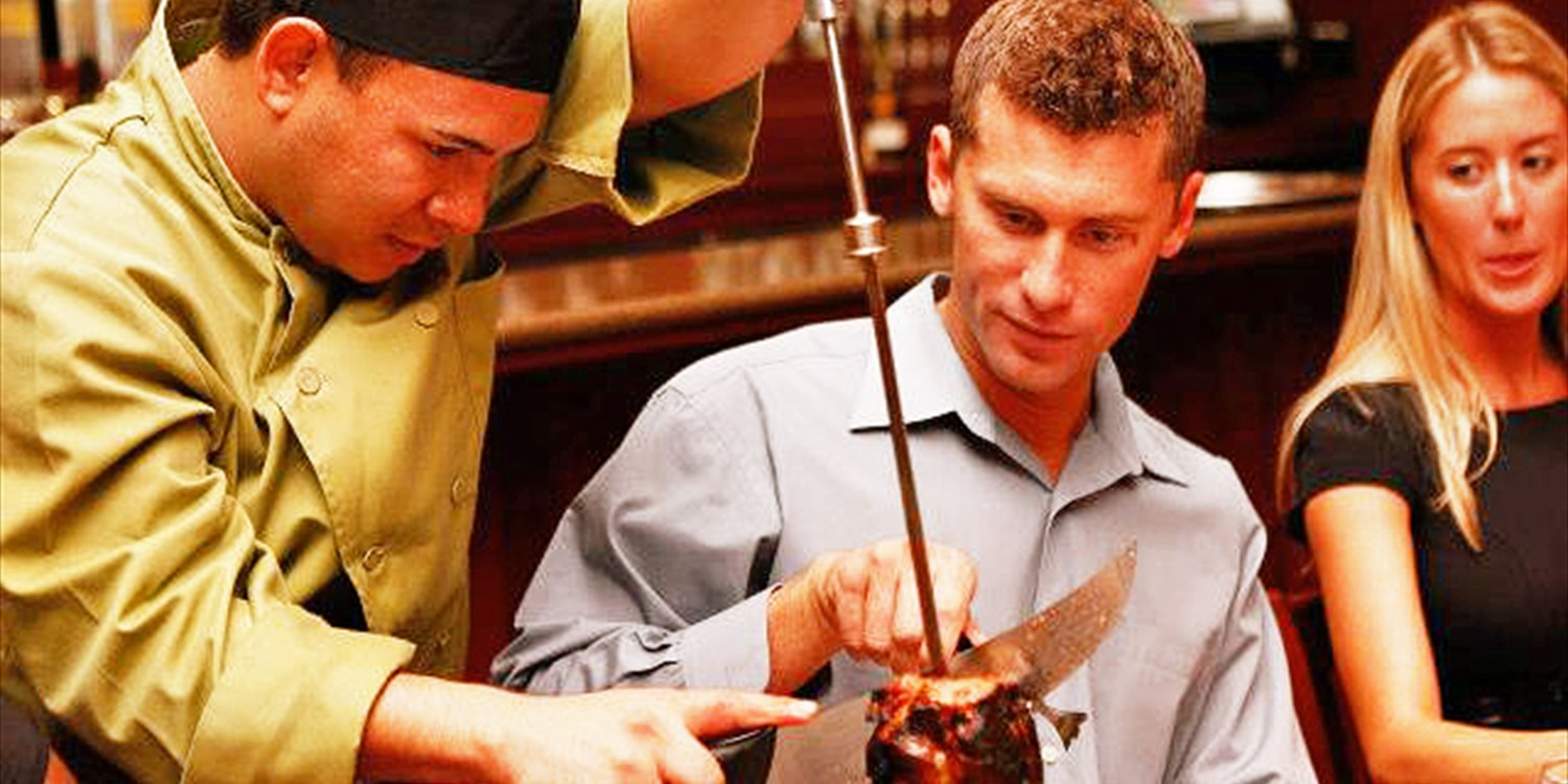 $49 -- Unlimited Brazilian Steakhouse Dinner for 2, Half Off