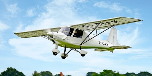 £75 -- Wiltshire: Hour-Long Microlight Flying Experience