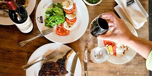 $40 -- Mac's Steakhouse in Huntington: $80 to Spend for 2