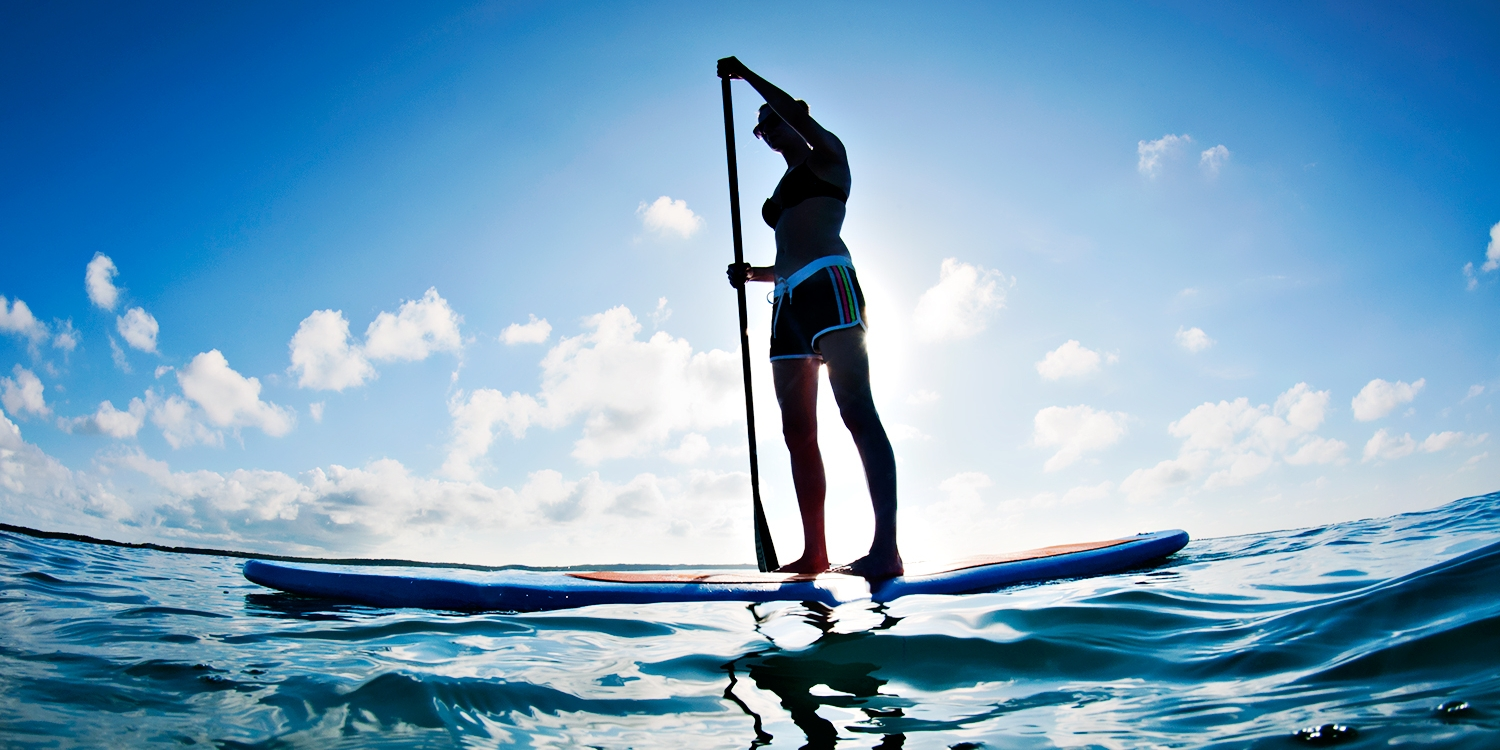 $40 -- Hamptons: Stand-Up Paddleboarding w/Drink, Reg. $105
