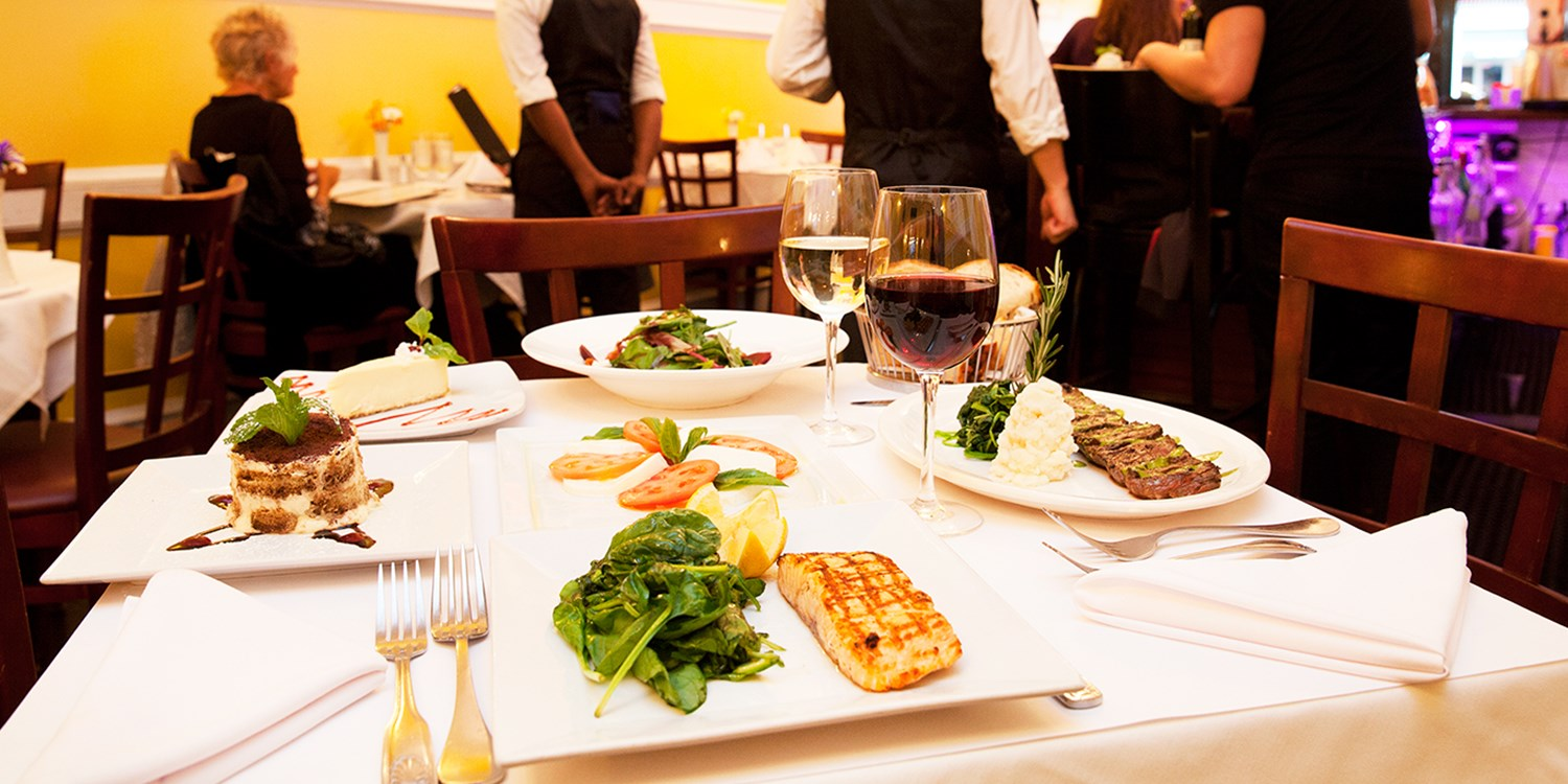 $49 -- Chelsea: 'Sleek' Italian Dining for 2 w/Wine, 50% Off