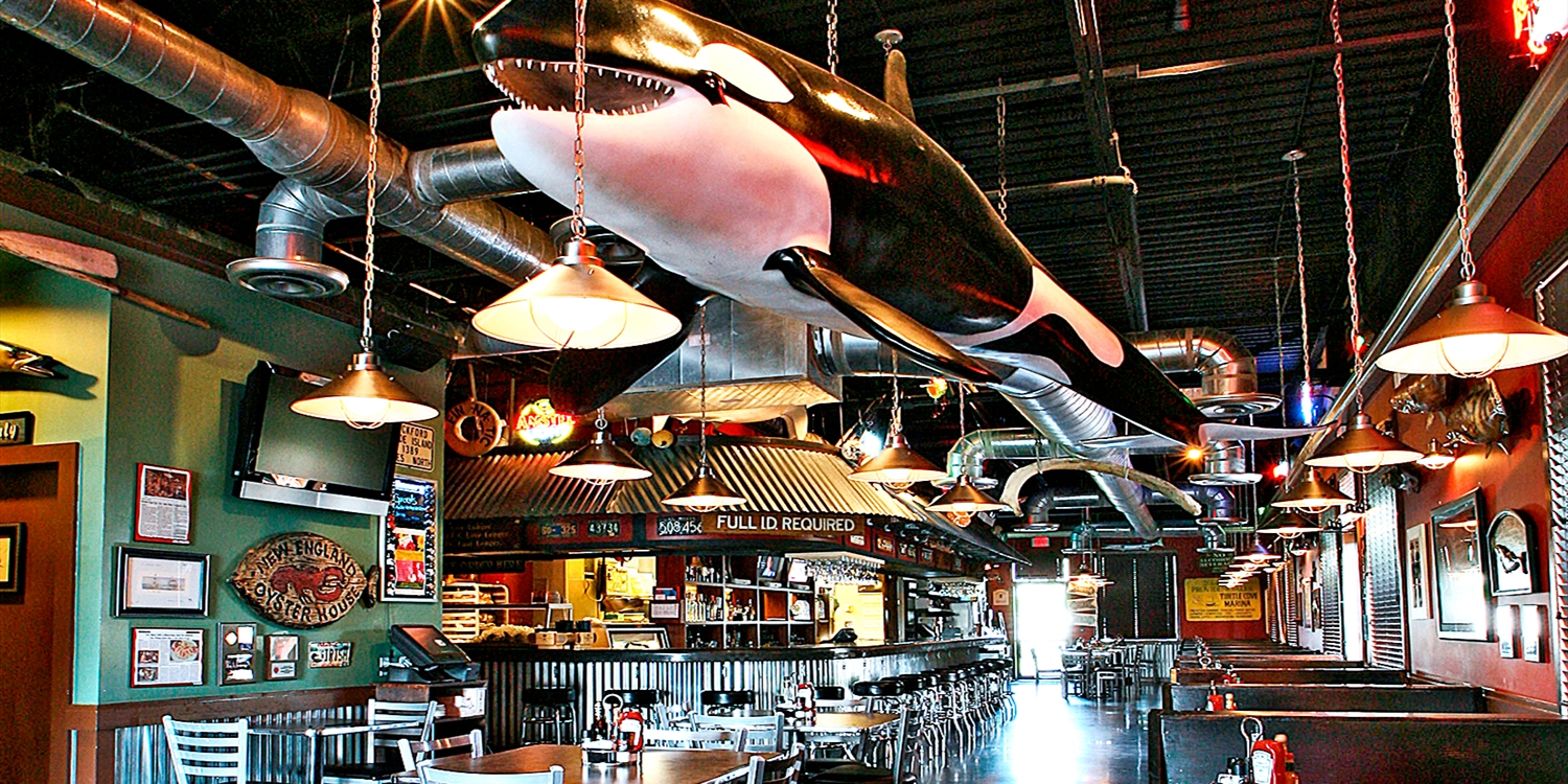 $25 -- Whale Raw Bar: Half Off Fresh Seafood & Drinks for 2