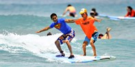$69 -- Waikiki: Group Surfing Lesson & Canoe Ride, Reg. $132