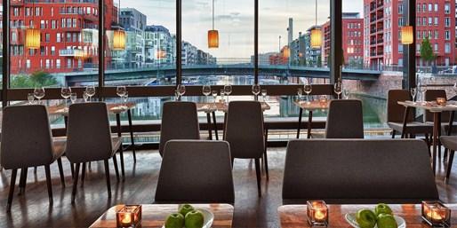 49 € -- Wunschmenü & Champagner im Restaurant aus Glas, -43%