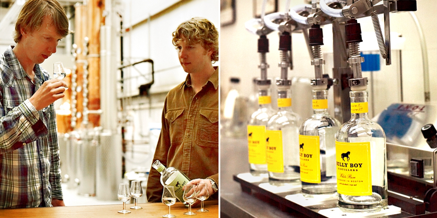 $20 -- Bully Boy Distillery Tour & Tastings for 2, Half Off