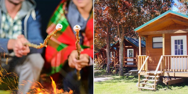 $139 -- Texas Hill Country: 2-Night Cabin Stay w/S'mores