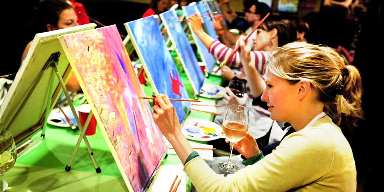 $25 -- Painting Parties at City Bars Nationwide, Reg. $45